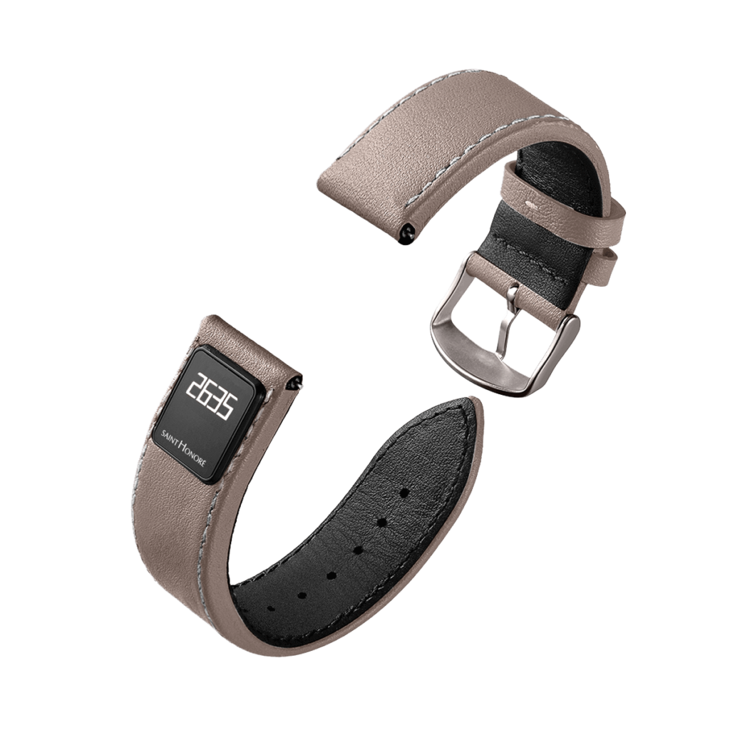 SH CONNECT Men's watch strap - Brown connected strap