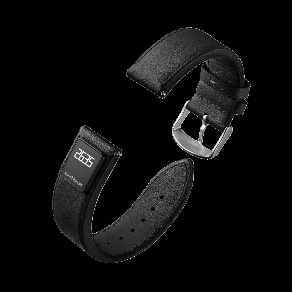 SH CONNECT Bracelet homme - Bracelet connecté noir