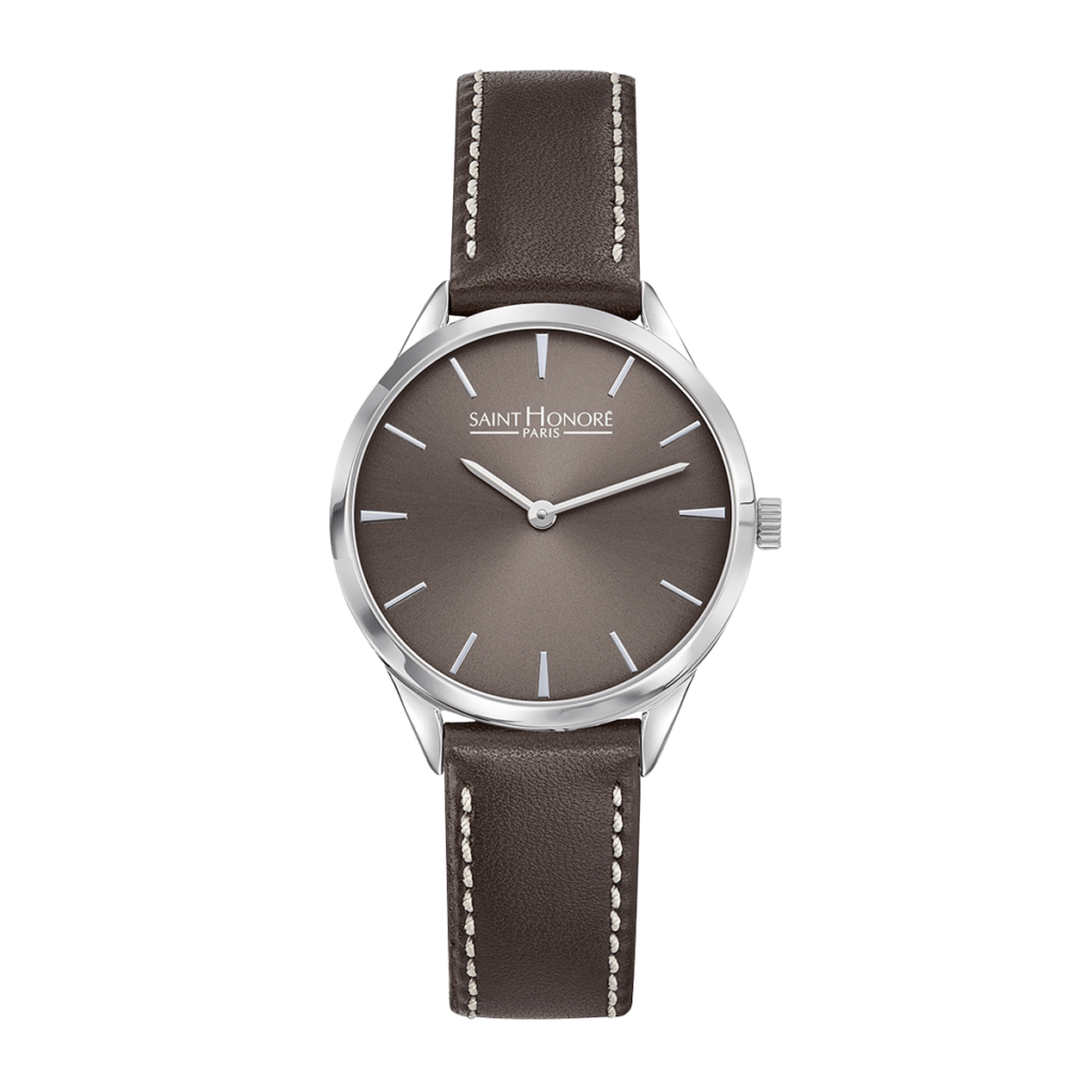 ALLURE Women's watch - Brown dial, brown leather strap