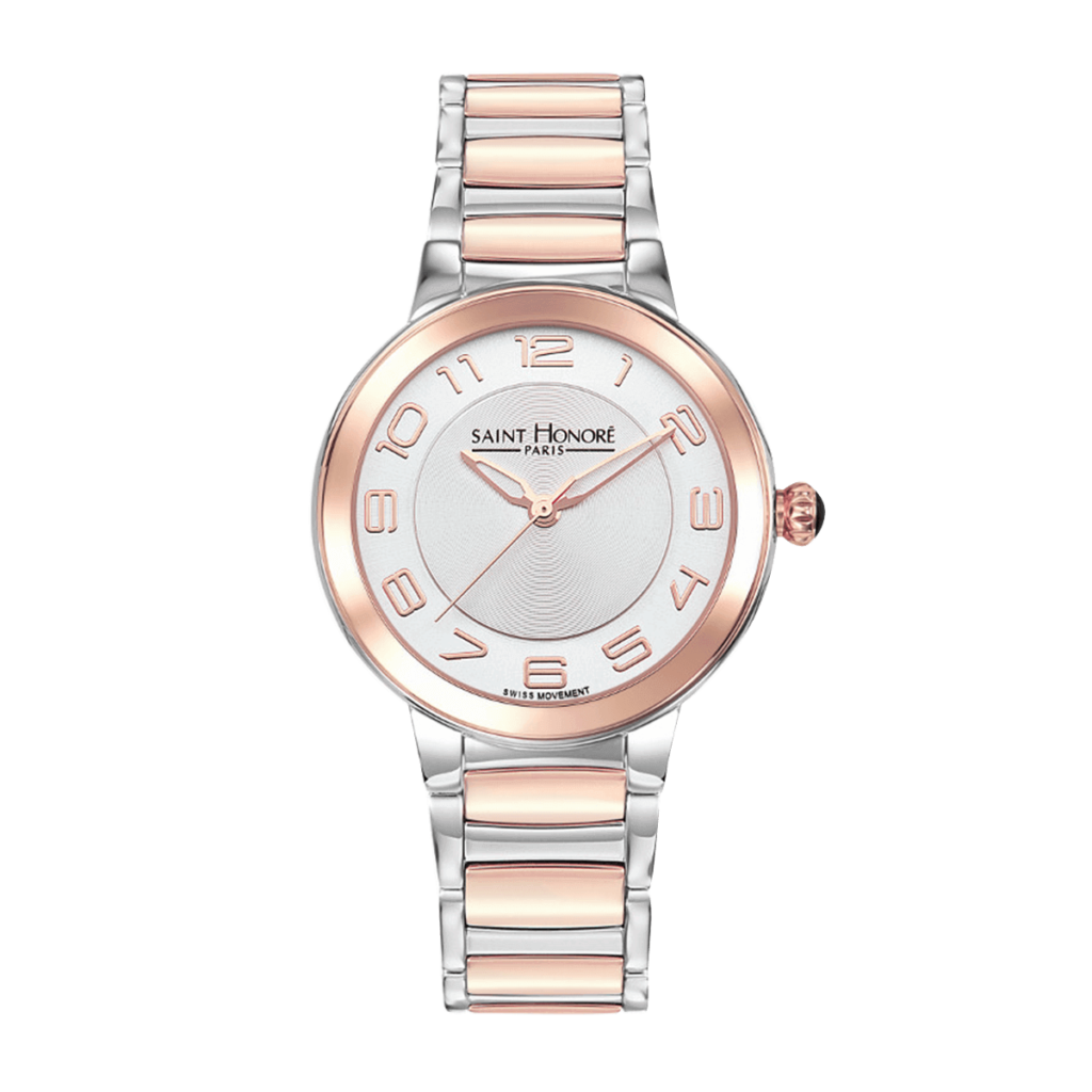 LUTECIA Women's watch - Two-tone stainless steel case and strap