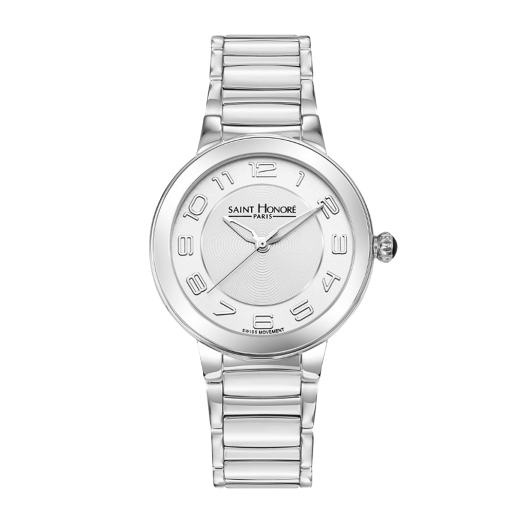 LUTECIA Women's watch - Stainless steel case, metal strap