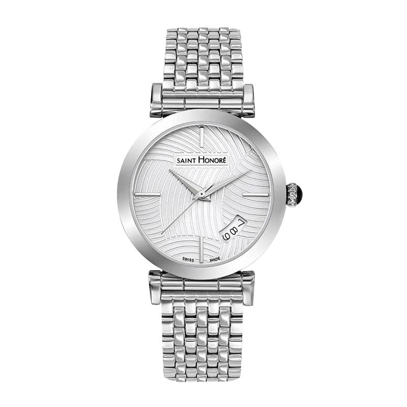 OPERA Women's watch - Stainless steel case, lined dial, metal strap