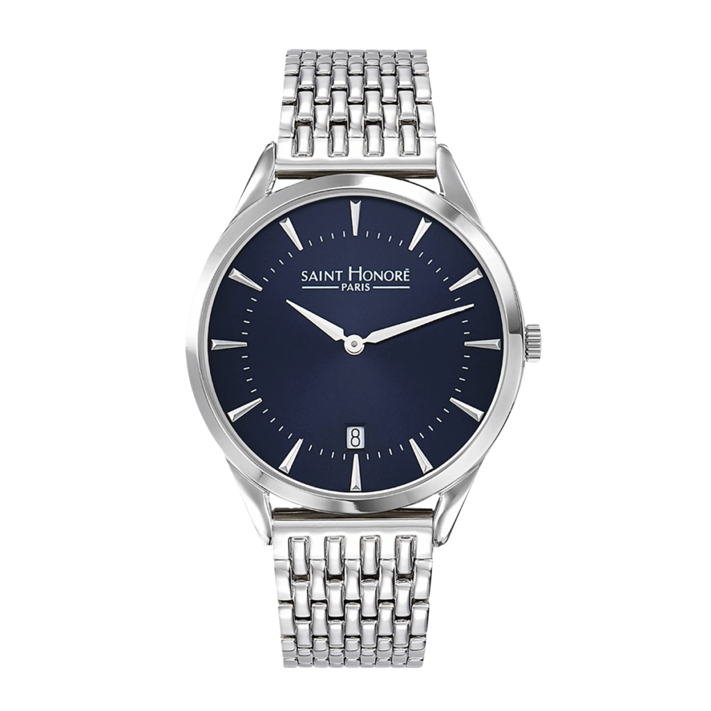 ALLURE Men's watch - Dark blue dial, stainless steel strap