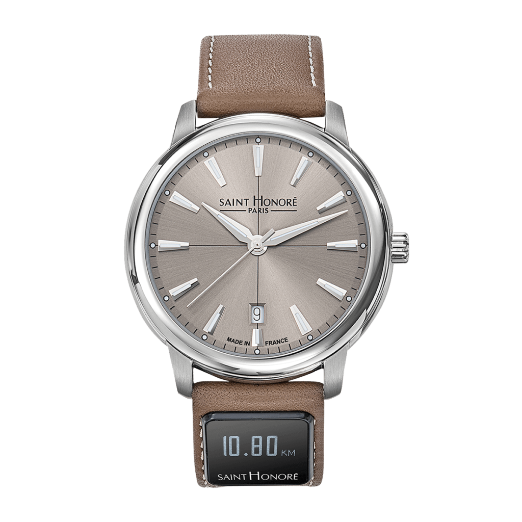 SH CONNECT Men's watch - Orsay watch, brown dial, connected strap
