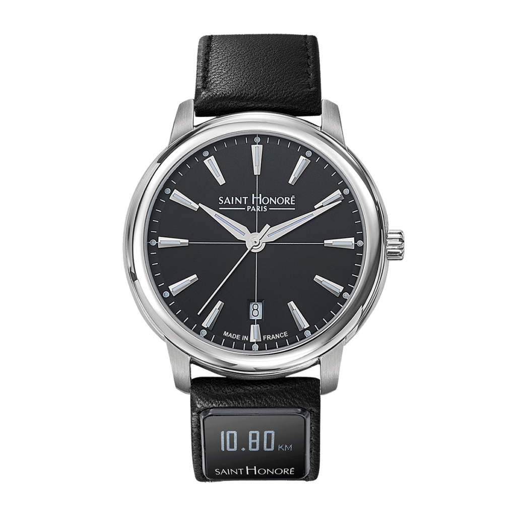 SH CONNECT Men's watch - Orsay watch, black dial, connected strap