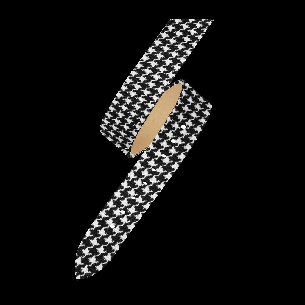 OPERA Bracelet femme double tour - Motif pied-de-poule