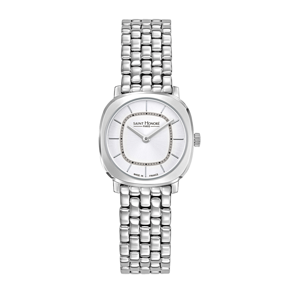 AUTEUIL Women's watch - Stainless steel case, metal strap