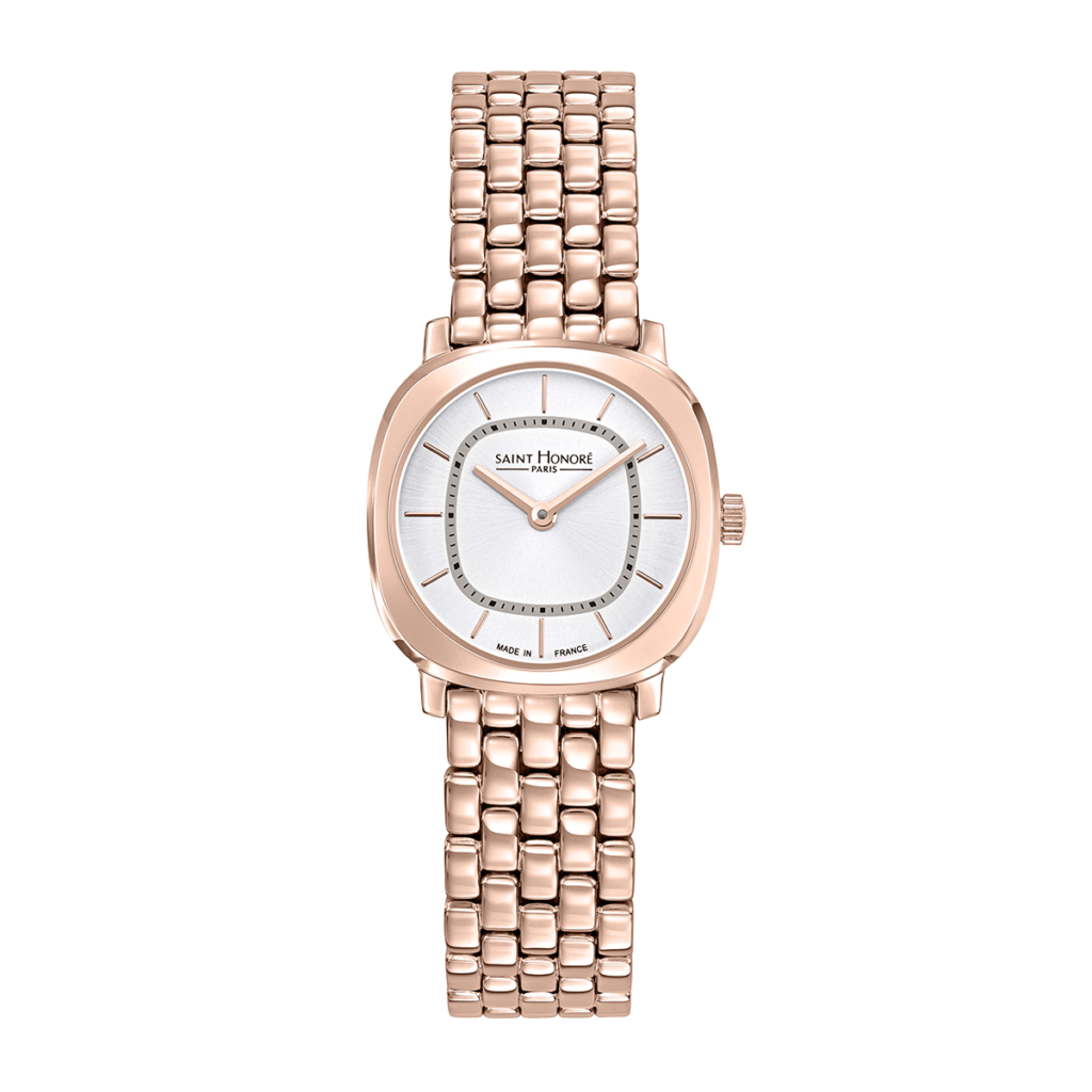 AUTEUIL Women's watch - Rose gold finish case and strap